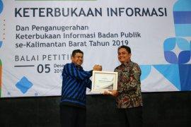 Pemkot Pontianak raih penghargaan Badan Publik Informatif