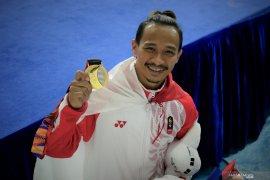 Ini dia, Emas dan SEA Games terakhir bagi Agus Prayoko