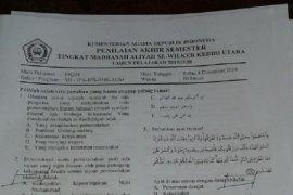 Kemenag Jatim cabut naskah ujian bermuatan khilafah di Kediri