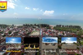 Pemko Pariaman memotret dari udara dengan kamera 360 derajat promosikan pariwisata