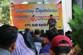 KPU Jatim resmikan digitalisasi rumah pintar pemilu di Kediri