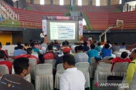 Disbudparpora Kediri gelar workshop kepelatihan sepak bola