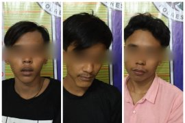 Lagi asyik nyabu, tiga remaja di Tanjung Pura ditangkap polisi