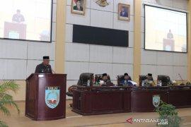 Bupati jelaskan revisi perda retribusi IMB ke DPRD