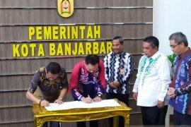 Pasar Bauntung Banjarbaru mulai dibangun