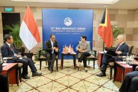BDF ke-12, Menlu RI-Timor Leste bahas kerja sama perbatasan