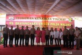 Kapolda : tenaga medis RS Bhayangkara Ambon harus tingkatkan mutu layanan kesehatan