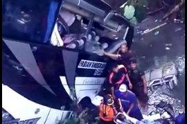 Sebagian korban luka kecelakaan bus di Blitar diperbolehkan pulang