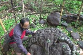 """Warga Ngariboyo Magetan temukan arca """"Ganesha"""""""