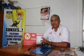 KONI Papua segera mutakhirkan data atlet dan pelatih PON XX