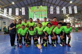 """Tim Futsal Wartawan Polda Kalsel tembus final """"PWI Adaro Cup 2019"""""""