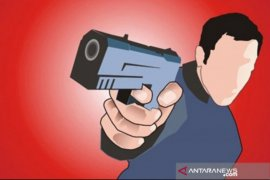 Rampok bersenpi beraksi di Minas, dua satpam ditembak