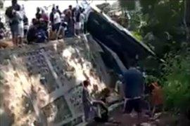 Jasa Raharja santuni korban kecelakaan bus rombongan guru TK