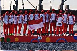 Dayung tradisional borong tiga emas di SEA Games 2019