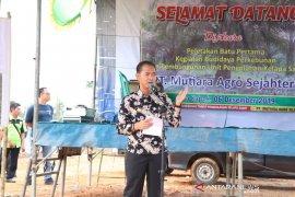 Bupati Bangka berharap pabrik sawit  bantu sejahterakan masyarakat