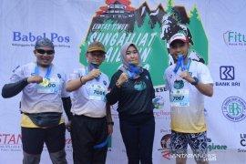 Bupati Bangka: Even Trail Run efektif tarik wisatawan