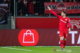 Liga Jerman, Dwigol Alario antarkan Leverkusen menang 2-1 atas Schalke