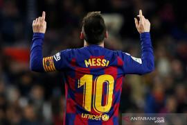 Messi absen bukan masalah bagi Barcelona