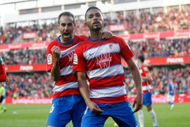 Liga Spanyol, Granada kembali ke jalur kemenangan, hantam sembilan pemain Alaves 3-0