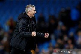 Solskjaer: Kami seharusnya bisa cetak lima gol ke gawang City