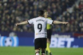 Bangkit dari ketertinggalan, Valencia menangi Derby del Turia