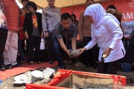 Gubernur Khofifah letakkan batu pertama pembangunan Museum HAM Munir