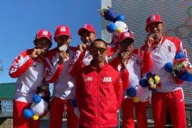 Indonesia tambah perak dari balap sepeda