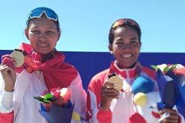 SEA Games 2019, Yayah dan Julianti raih emas rowing lightweight pair schuls