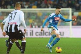 Liga Italia: Napoli perpanjang catatan gagal menang saat ditahan Udinese