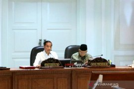 Presiden Jokowi soroti persoalan  penyaluran KUR