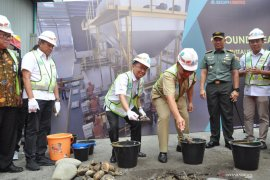 "BGR Logistics ""Ground Breaking"" revitalisasi gudang pupuk di Medan dan Lampung"