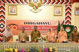Mardiani: Selaku mitra pemerintah Dharma Wanita Tapsel siap mendorong pembangunan