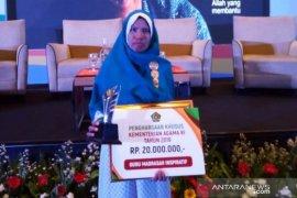 Kepala madrasah di Aceh terima penghargaan guru inspirasi dari Menag RI
