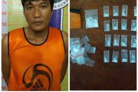 Satresnarkoba Polres Langkat ringkus bandar sabu-sabu di Tanjung Pura
