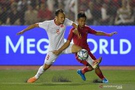 SEA Games 2019: Indonesia vs Vietnam 0-1 di babak pertama, Evan Dimas cedera
