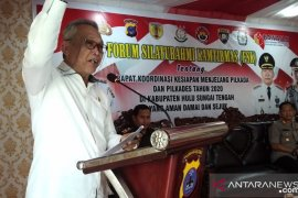 Bupati HST buka acara forum silaturrahmi Kamtibmas