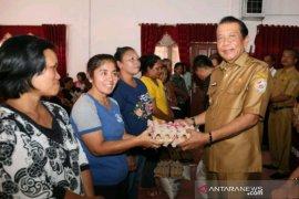 14.213 keluarga di Tapanuli Utara terima bantuan pangan non-tunai