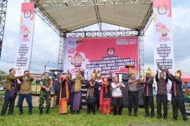 KPU Simalungun luncurkan penyelenggaraan Pilkada 2020