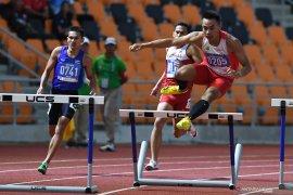 Timnas atletik tinggalkan Filipina dengan catatan