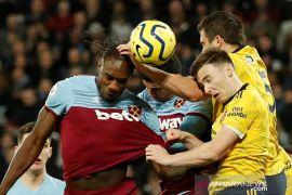 Lumat West Ham United 3-1, Arsenal raih kemenangan pertama di bawah asuhan Ljungberg