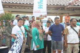 Bupati Pandeglang Irna Narulita dorong masyarakat budayakan hidup sehat