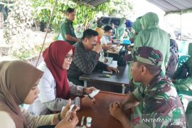 Peringati Hari Juang TNI AD, Korem 045/Gaya laksanakan baksos