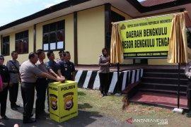 Polres Bengkulu Tengah diresmikan