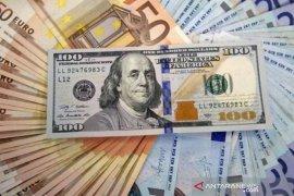 Dolar menguat atas euro, karena ECB pertahankan suku bunga stabil