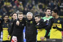 Liga Champions ringkasan Grup F, Fati bantu Dortmund ke 16 besar