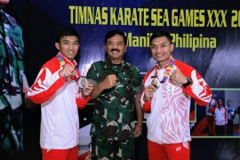 Ketum FORKI bangga dengan raihan kontingen karate Indonesia di SEA Games