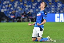 Liga Champions, trigol Milik ke gawang Genk antar Napoli melenggang