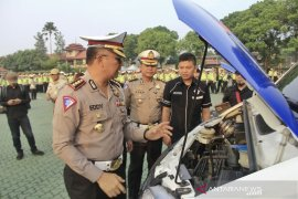 Rawan kecelakaan, polisi imbau masyarakat waspada di tol Cipali Km 40-86