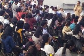Wamen Perdagangan motivasi mahasiswa Universitas HKBP Nommensen Pematangsiantar