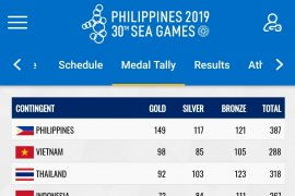 SEA Games 2019: Indonesia finis di posisi keempat
